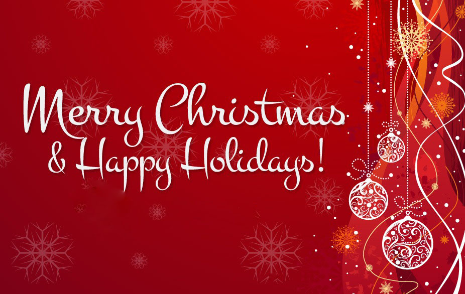 Merry Christmas and Happy Holidays to all of our valued Customers, Family, & Friends!